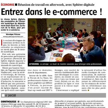 L'agence MédiaComs citée en référence au sein du réseau Sphère Digitale et FrenchTech LoireValley