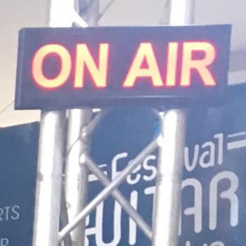 FGI est la radio du festival de la guitare d'Issoudun, l'équipe MédiaComs raconte le festival en ligne et sur la bande FM