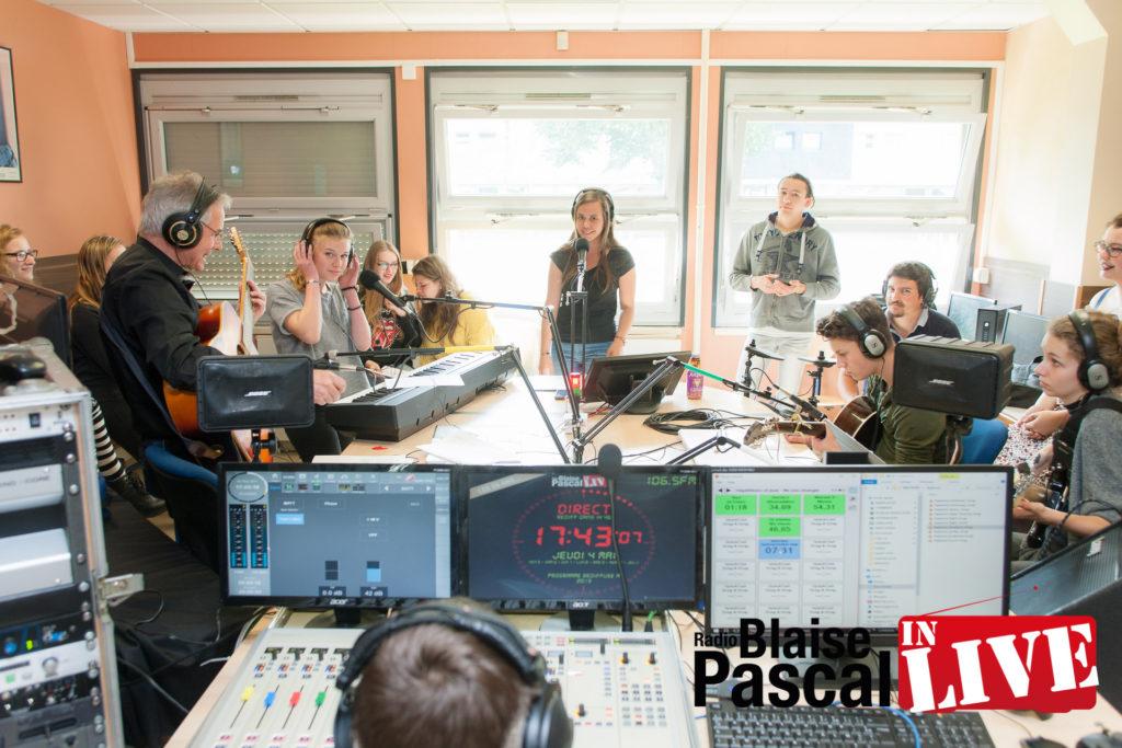 Radio Blaise Pascal In Live à Segré en 2017