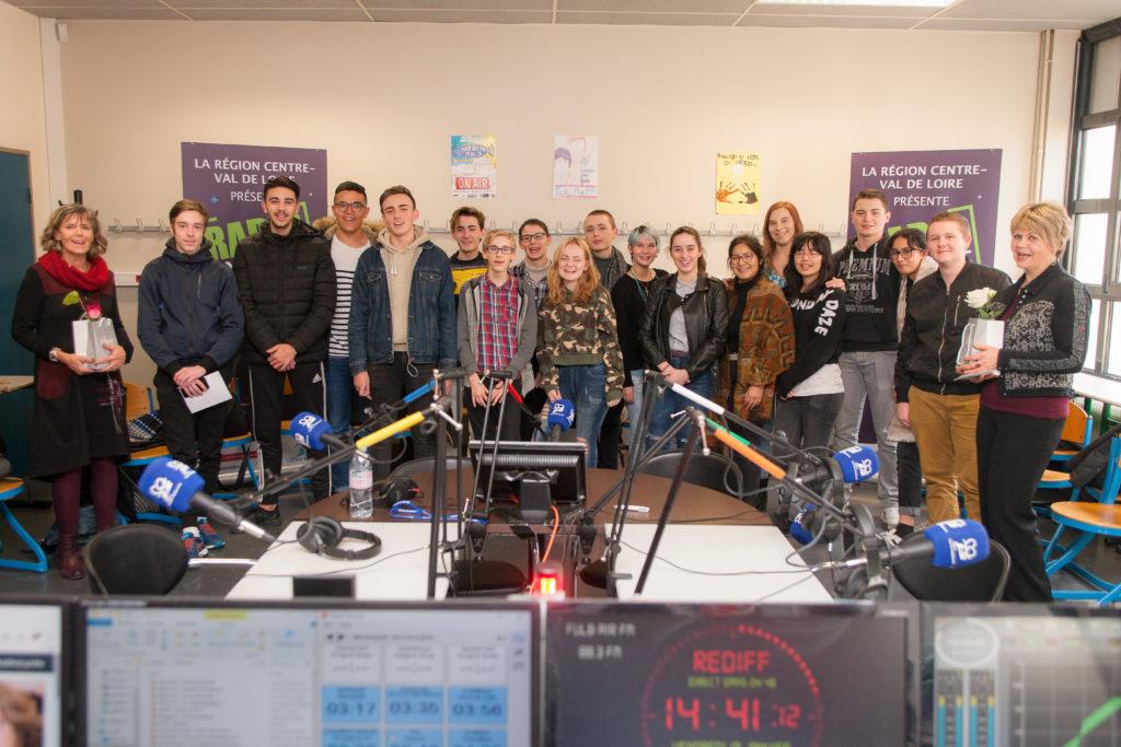 Radio Fulbert FM en janvier 2018 à Chartres